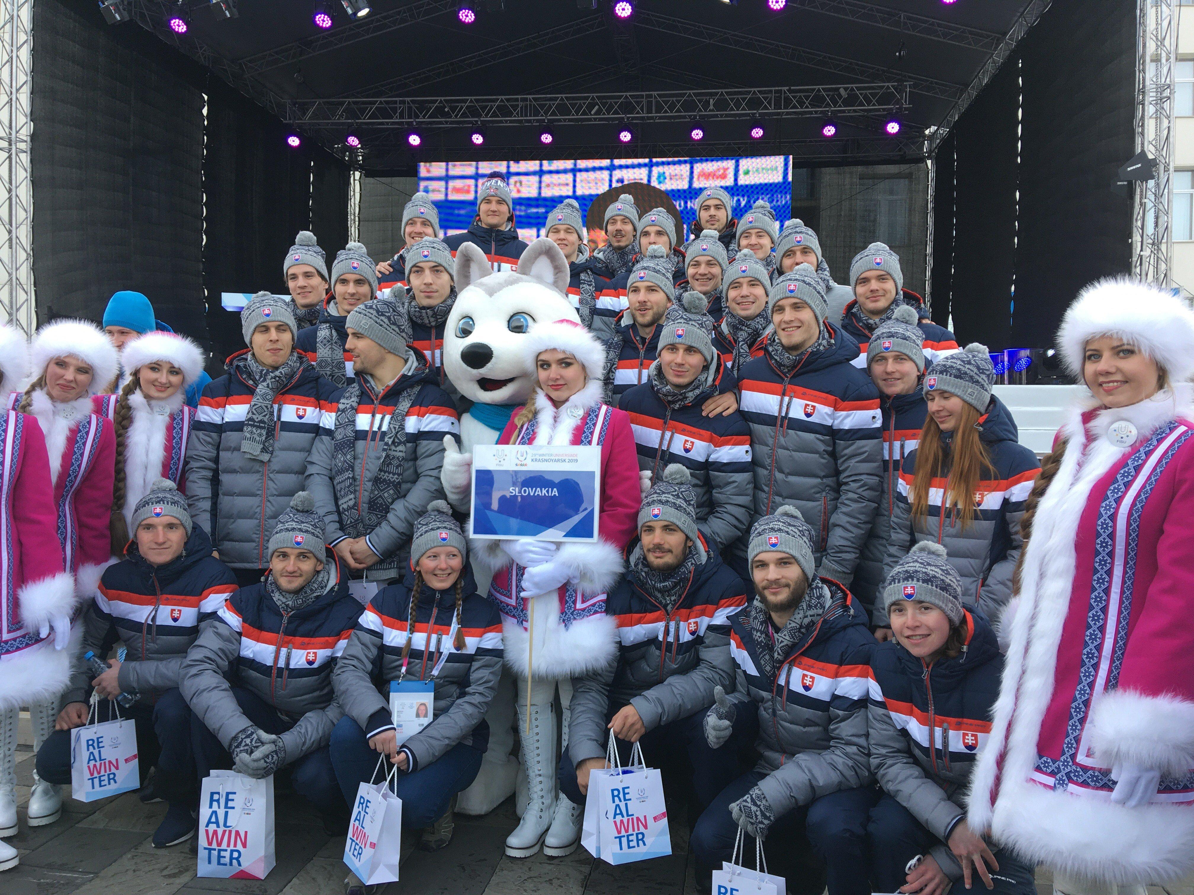 Vzorná reprezentácia FRI UNIZA na Zimnej svetovej univerziáde v Krasnoyarsku, Sibír